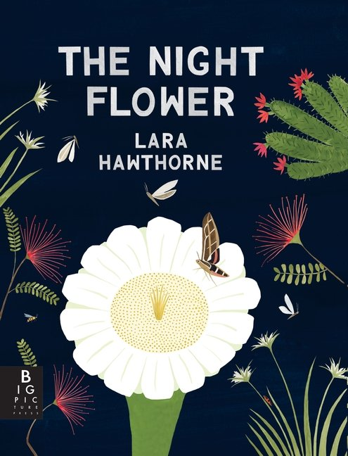 The Night Flower by Lara Hawthorne book cover art