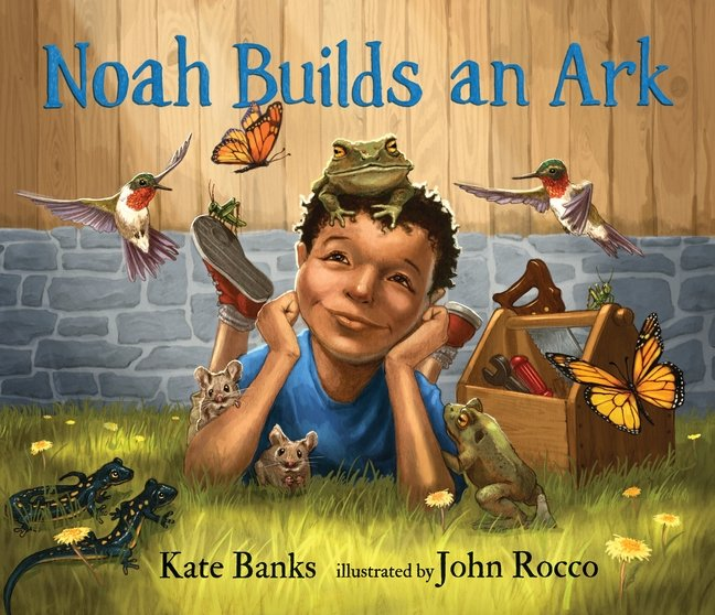 Noah Builds an Ark book cover artwork