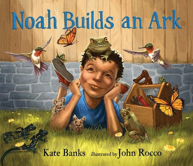 Noah Builds an Ark book cover artwork
