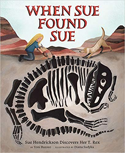 When Sue Found Sue book cover illustration