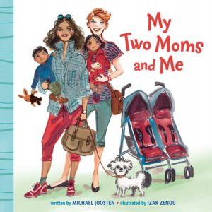 My Two Moms and Me board book cover art