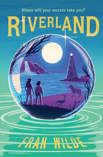 cover illustration from Riverland by Fran Wilde