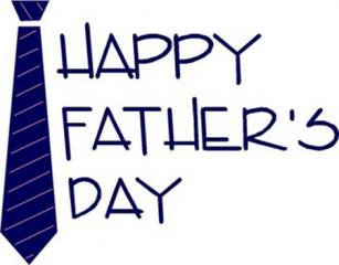 happy fathers day free clip art image of tie