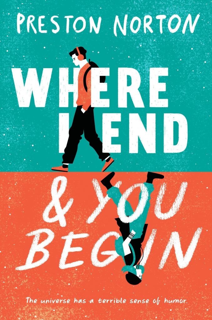 where I end and You Begin book cvr