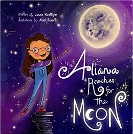 Aliana Reaches for the Moon book cvr
