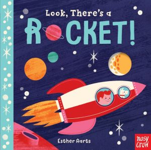 Look There's a Rocket! Book Cover