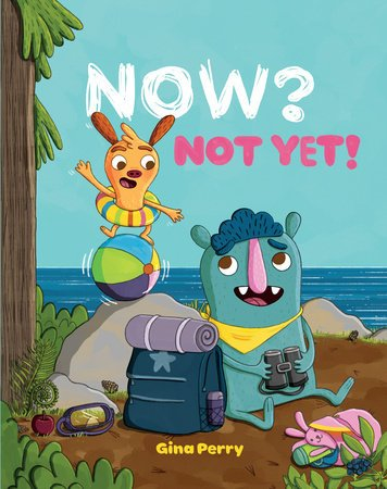 Now Not Yet Book Cvr