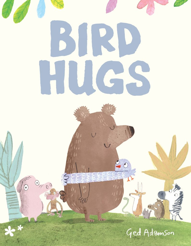 Bird Hugs by Ged Adamson book cover