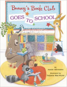 Bunny's Book Club Goes to School cover