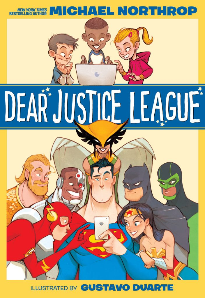 Dear Justice League cover