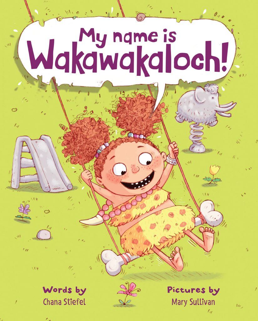 My Name is Wakawakaloch! book cover