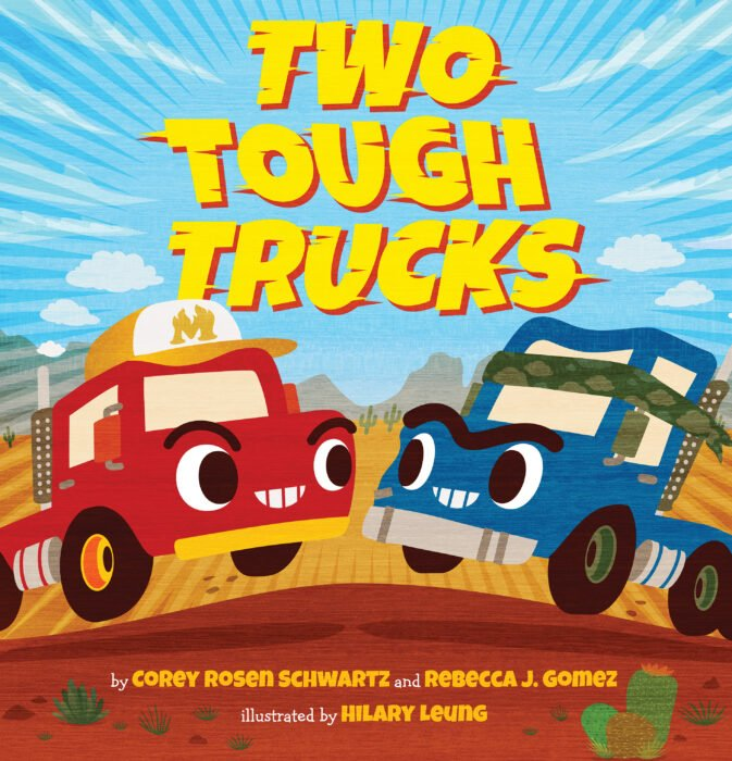 Two Tough Trucks Book Cover