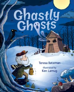 Ghastly Ghosts Book Cover
