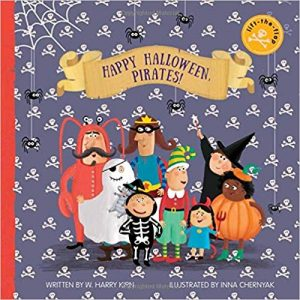 Happy Halloween Pirates book cover