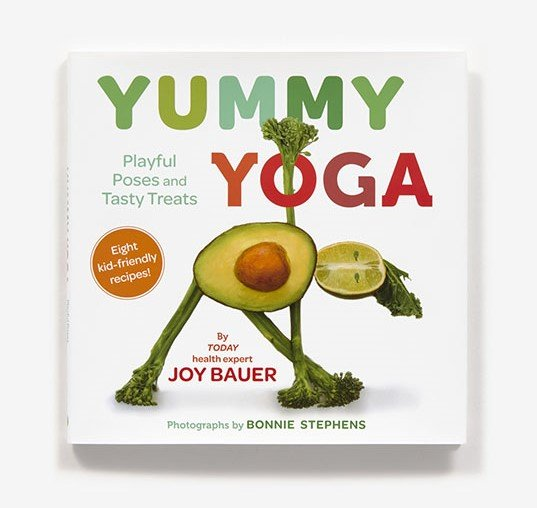 Yummy Yoga book cover photograph
