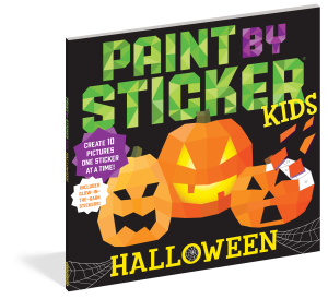 paint by sticker kids Halloween cover