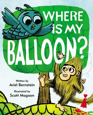 where is my balloon book cover
