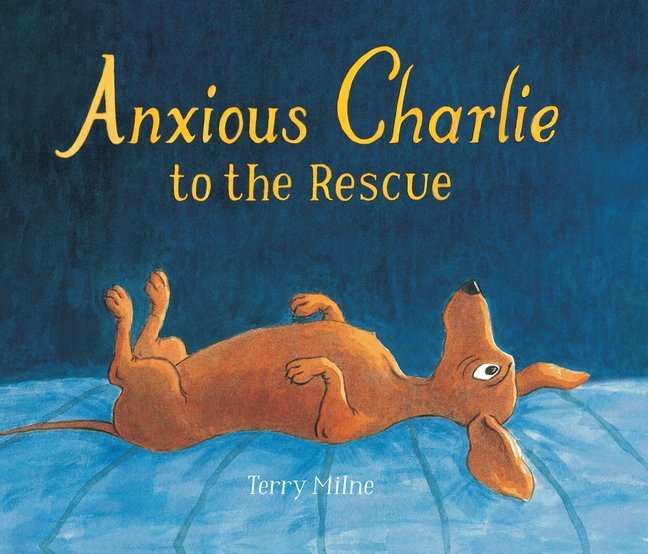 Anxious Charlie book cover