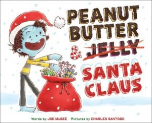 peanut butter and santa claus cover