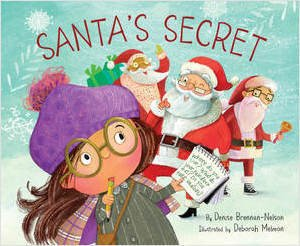 santas secret book cover