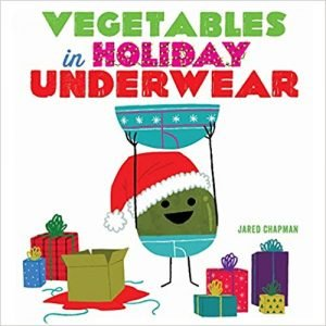 vegetables in holiday underwear cover