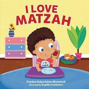 I Love Matzah bbcover