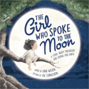 The Girl Who Spoke to the Moon cvr
