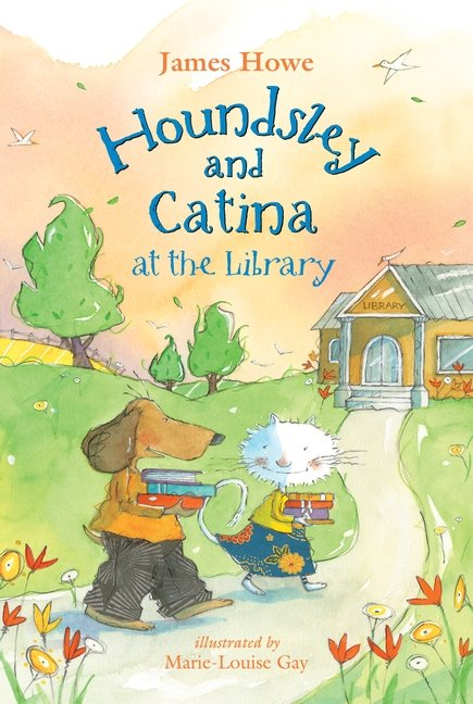 Houndsley and Catina atthelibrary cvr