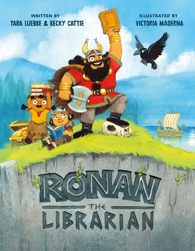 Ronan the Librarian cover