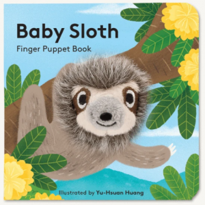 Baby Sloth Finger Puppet cover