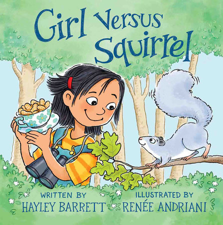 Girl versus Squirrel cover