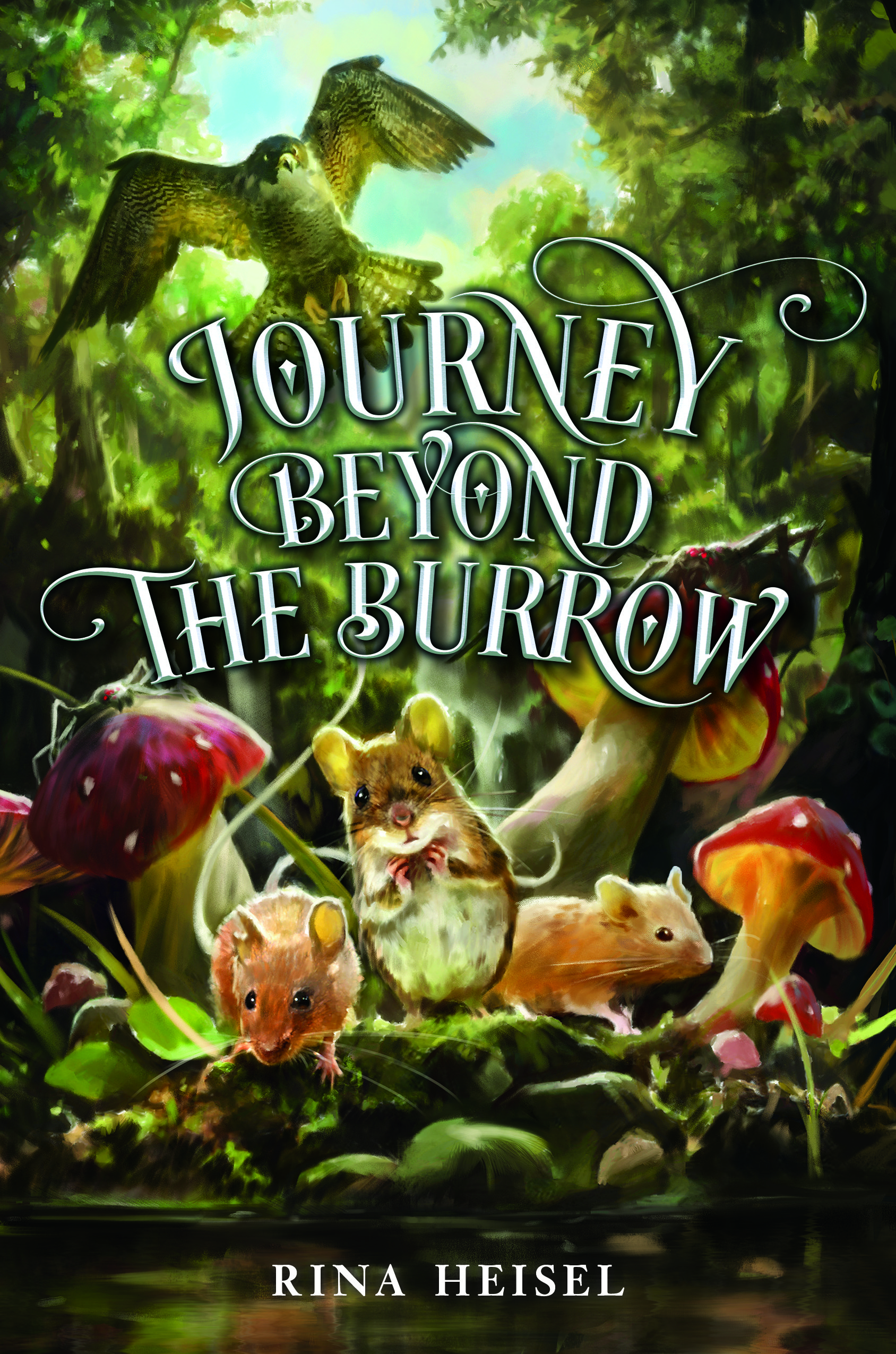 Middle Grade Cover Reveal For Journey Beyond The Burrow