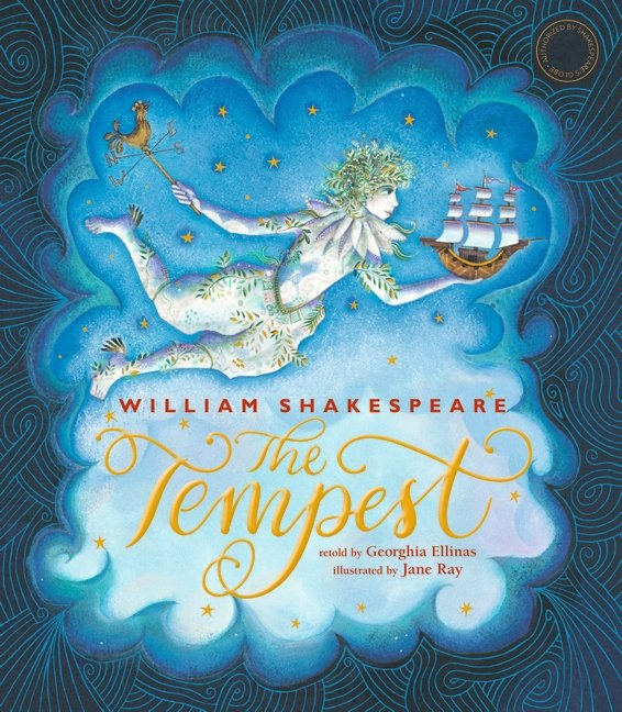 The Tempest retold cover