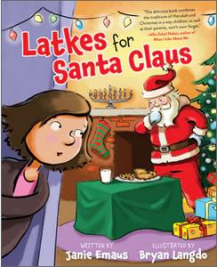 LatkesforSantaClaus cover