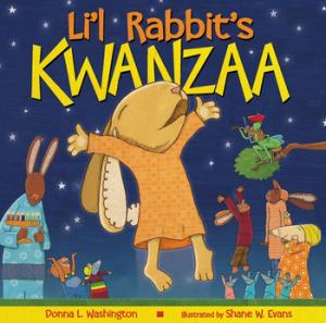 Lil Rabbits Kwanzaa paperback cvr
