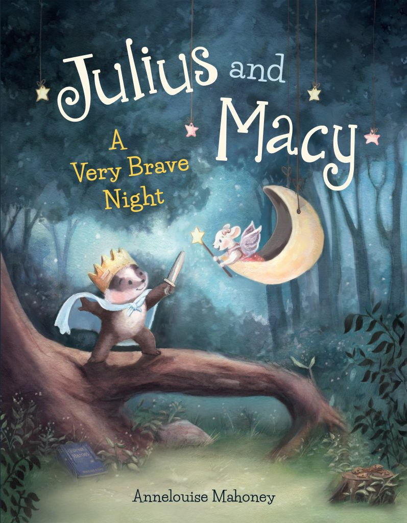 Julius And Macy A Very Brave Night Cover