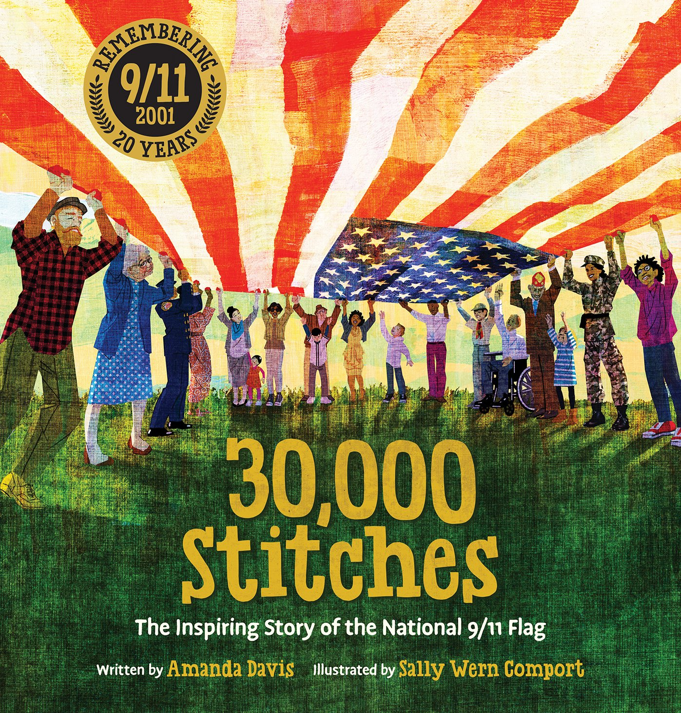 Picture Book Review – 30,000 Stitches By Amanda Davis