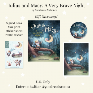 Julius and Macy A Very Brave Night-4 Giveaway