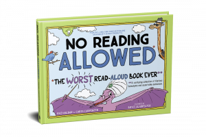 No Reading Allowed cvr