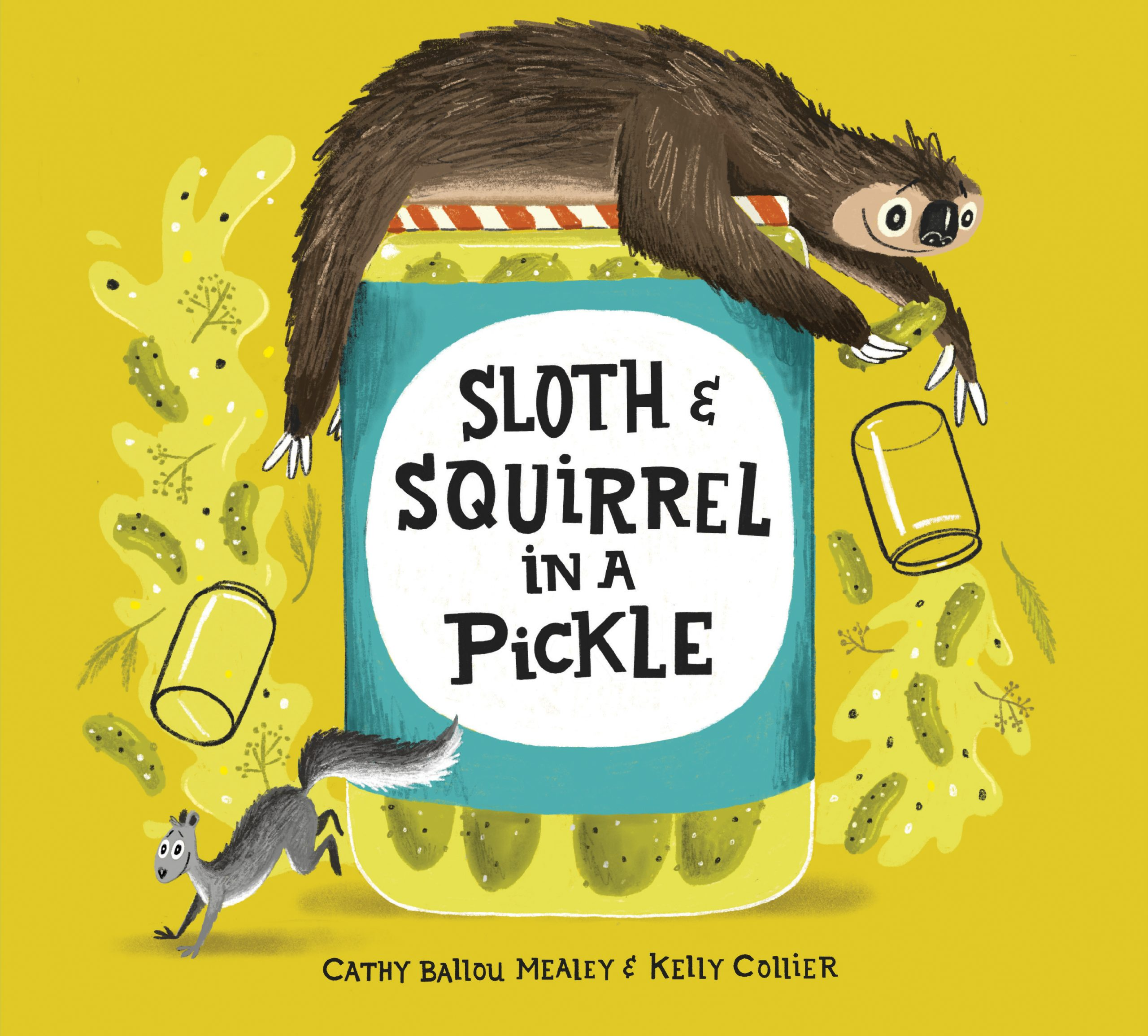 Kids Picture Book Review – Sloth And Squirrel In A Pickle