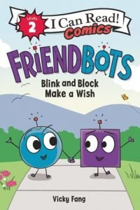 Friendbots Blink and Block book1 cover