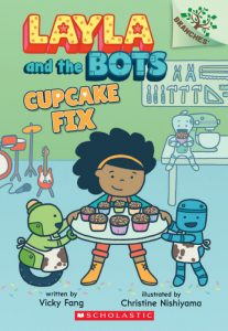 Layla and the Bots Cupcake Fix cvr
