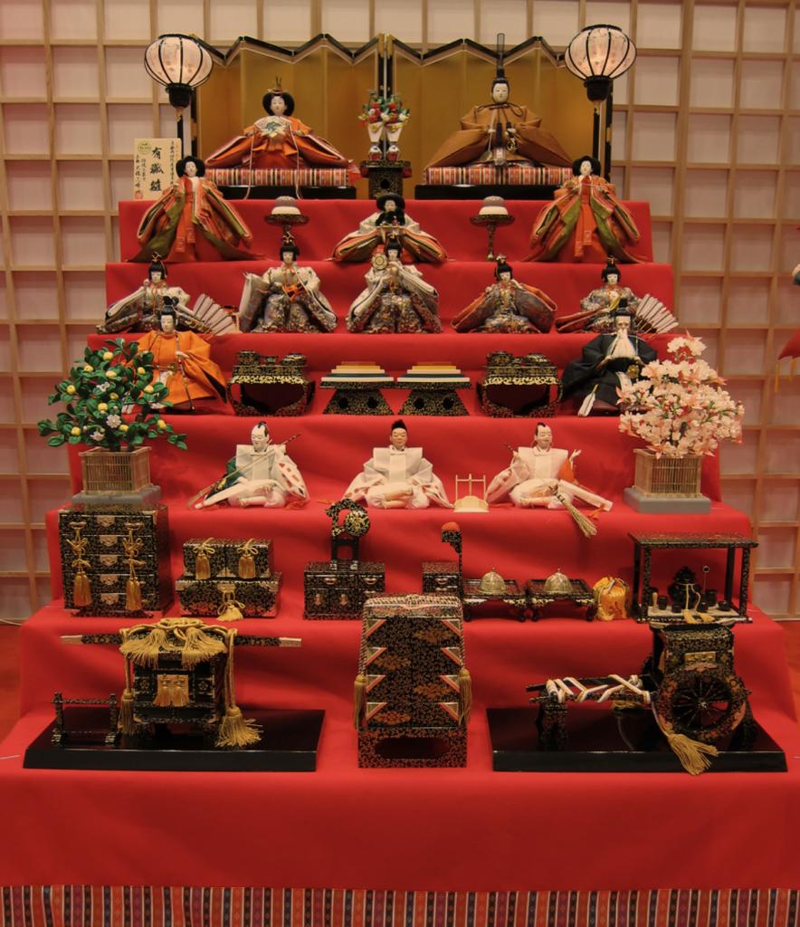 Hinamatsuri Japanese Doll Festival or Girls' Day
