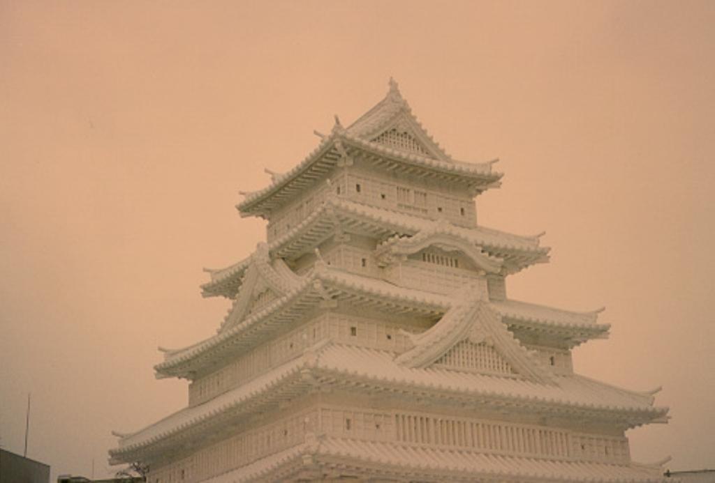 Yuki Matsuri Japanese Ice Temple photo by Aaron Quigley