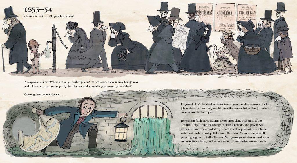 GreatStink INT Cholera is back