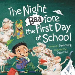 TheNightBaaforetheFirstDayofSchool cover