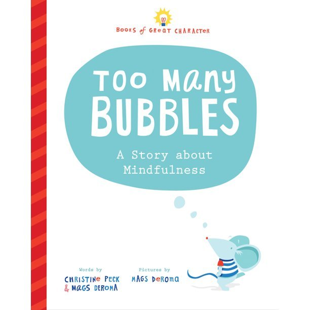 Too Many Bubbles cover art with mouse