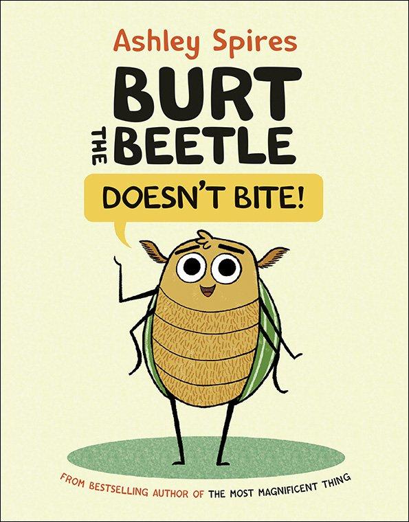 burt the beetle doesnt bite cover