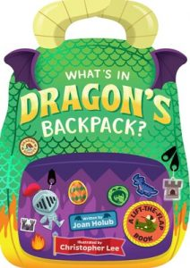 whats in dragons backpack cover