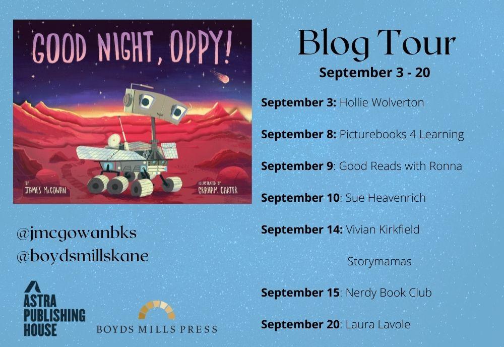 Oppy Blog Tour